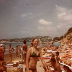 Labrousse Martine, Torino 1979 Plage de la Point Rouge